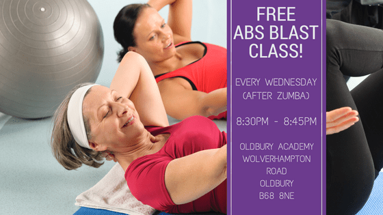 FREE Abs Blast Class Every Wednesday!