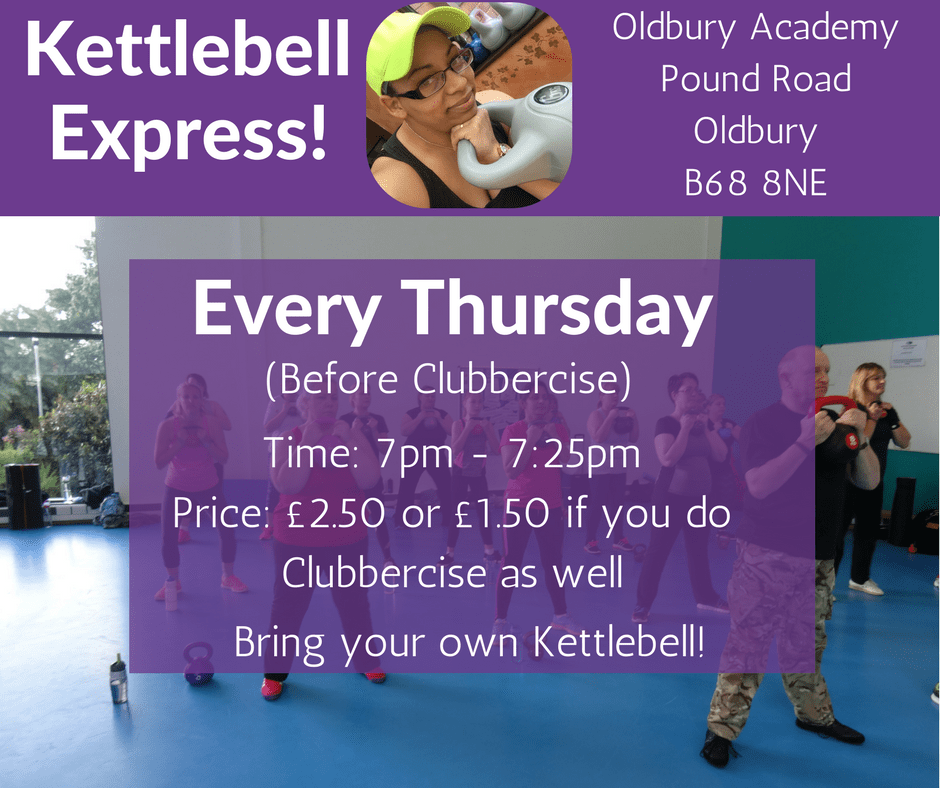 Kettlebells Express Every Thursday!